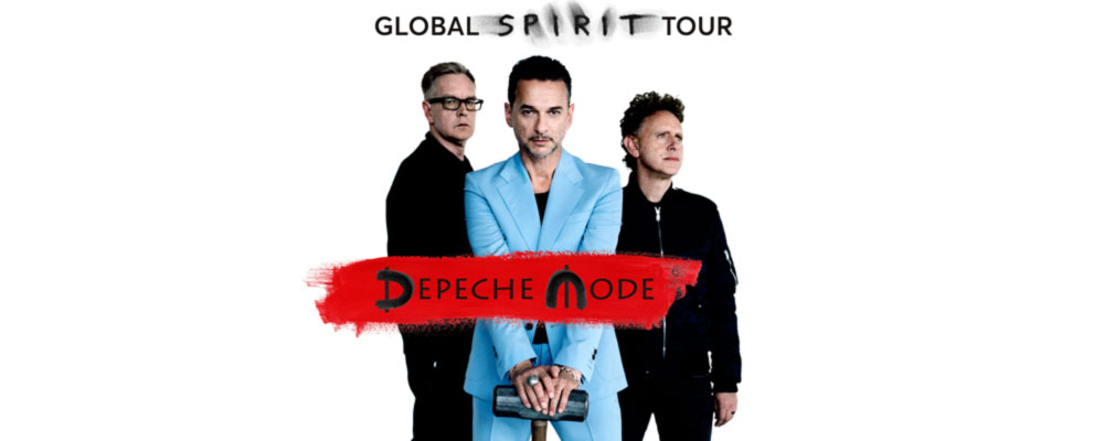 Depeche Mode - THE GLOBAL SPIRIT TOUR 2017